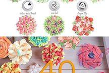 flowers - cake