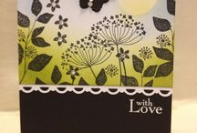 Cards - Stampin Up Summer Silhouettes