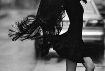 Women black and white