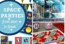 Space Party / Ideas for Noah's second birthday party