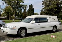 Hearse / Hearse cars at various funerals