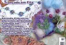 BORDADOS EM FITAS Nº 3 / BORDADOS EM FITAS