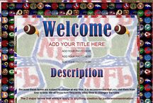 Sports Auction Templates / Get your listings in the zone with these sporty themed auction templates.