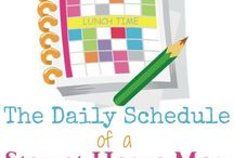 Sample family schedules