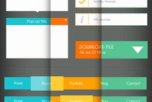 UI/ UX inspiration board