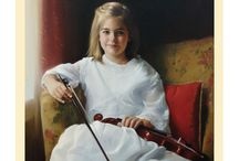 Musical Oil Portraits / Musical Oil Portraits hand painted by Leon Loard Oil Portraits