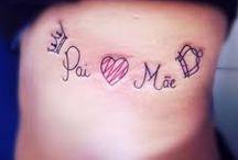 Tatuagens <3 / tatuagens delicadas