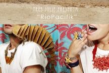 RioPacifik / RioPacifik es la nueva colección de verano de Très Jolie inspirada en motivos marinos y formas geométricas simples y llamativas para los chicos.