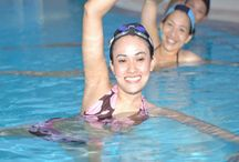 Swimming pool exercises