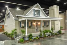 Oswego II / This upgraded version of our Oswego II floor plan was debuted at a housing show in Louisville, KY earlier this year.   www.ritz-craft.com/OswegoII  #cottage