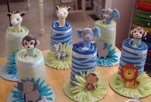 baby shower centre pieces