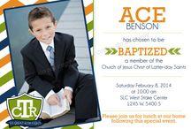Kadens baptism / by Rachel Shumway