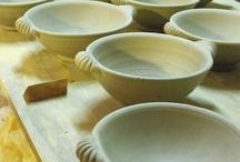Pottery - Handles, Feet, Lids / by Linda Embrey Neubauer