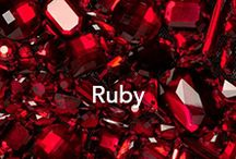 Ruby Red / Ruby Gemstones & Jewelry that JEWELv loves!