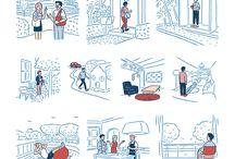 Illustration: Redbull drawings
