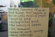 To do in the new year!