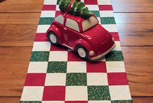 Sally Christmas table runner