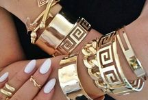 """Bags and Bling / This is a direct quote from my grandmother, """"You can never wear too much bling."""" I agree! Here are some of our favorite bags and favorite jewelry. Accessories are life!"""