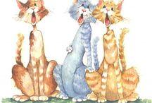 Katter og bikkjer