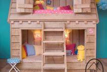 Bambini letti a castello
