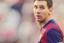 Messi / I am the biggest fan of messi