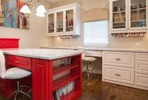 Sewing room / by Lisa Boettcher