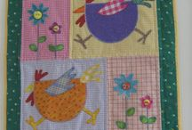 Quilts with Chikens / by Lady Quilter