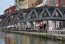 Milan's Bridges / Bridges of Milan, Navigli's and Porta Genova's districts