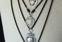 Antique fob medals
