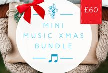 Happy Holidays! - Gifts for the all the family! / #music #gift #festive #holidays #xmas #christmas #holiday #merry #north #london #bundle #market #shop #shopping #eve #new #year