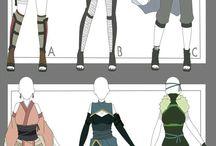 Costume (also drawn)