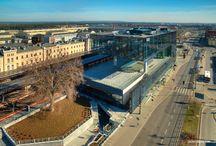 Bydgoszcz z drona / Zdjęcia Bydgoszczy wykonane z drona.
