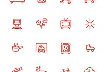 D. Icons / vectors / logos / by Chelsea Forrest