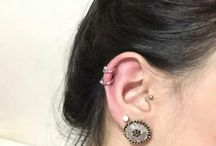 pircing  orelha