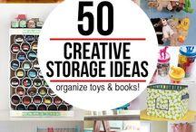toy storage / by Rebekah Hurwitz