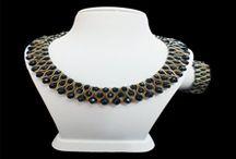 Kristal Boncuk Takımlar / El yapımı kristal boncuk, kum boncuk, miyuki boncuk kolye, bileklik ve takımlar