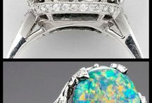 All Things Opal Jewelry / Opal comes in many colors, from many areas and can be cut and shaped to create some really unique opal jewelry.
