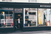Watershed Brand shop interiors / Here are the store fronts of our Watershed Brand stores.