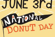 National Donut Day 2016 / This National Donut Day, join us for FREE MINI DONUTS. Pick up an activity PASSPORT (while supplies last) visit each cafe on June 3rd and receive a stamp to win a prize when you collect stamps from all three locations!   In partnership with Food Lifeline, we will also have donation boxes at every cafe.