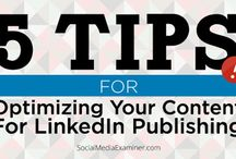 Tips - LinkedIn / Tips on using LinkedIn effectively / by Marjie Kemper Designs