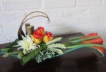 podium flowers