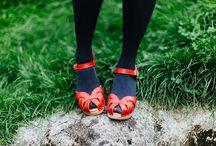 Chaussures à chaussettes