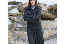 knitting coat patterns