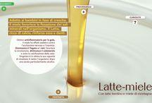 Latte e Miele / MALANNI DA CAMBIO STAGIONE? CI PENSIAMO NOI. GELATO GUSTO LATTE & MIELE, E PASSA LA PAURA Il miele favorisce la fissazione dei sali minerali nell'organismo, è un ottimo antinfiammatorio per la gola, fortifica i muscoli e aiuta la resistenza, disintossica il fegato e i reni, favorisce la circolazione.... …. prima di andare dal medico, passa da Pretto per un dolce rimedio naturale contro i disturbi dell'organismo ( e dell'umore )