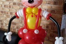 palloncini personaggi disney topolino
