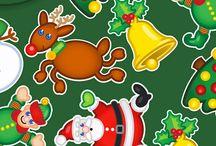Our Christmas themed Lycra fabrics