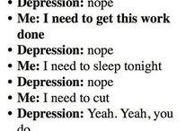 self harm /Depression