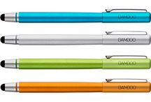 Stylus / Styluses or Styli? We're not sure but either way these are a useful alternative to tapping away on our screens and can feel very natural and relaxed to use. If your screen is positioned upright using a stylus can help you avoid awkward wrist posture which results from touching the screen. Here are some nice ones.