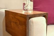 Decoration..arm couch table