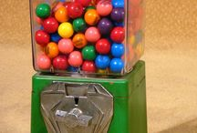 Gumball Machines and Tacky Toys